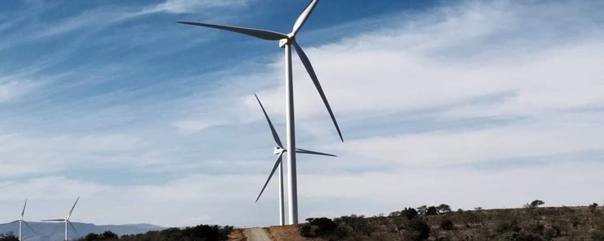 مزرعه بادی Oyster Bay ، ساخته شده توسط Enel Green Power در آفریقای جنوبی - Sputnik ایتالیا ، 1920 ، 21.09.2021