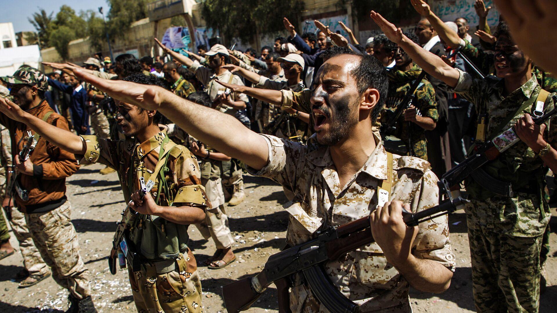 Truppe degli Huthi in Yemen - Sputnik Italia, 1920, 23.05.2021