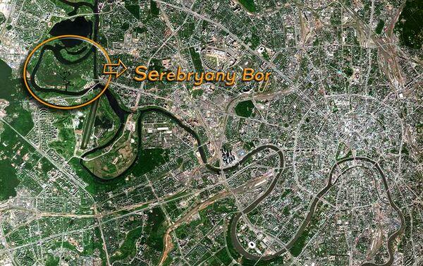 Serebryany Bor sulla mappa - Sputnik Italia