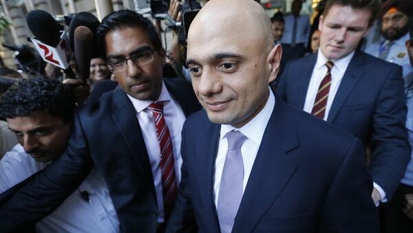 Il Segretario di Stato per gli affari interni del Regno Unito Sajid Javid - Sputnik Italia