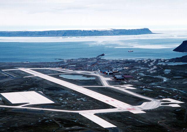 Base aerea USA di Thule, in Groenlandia