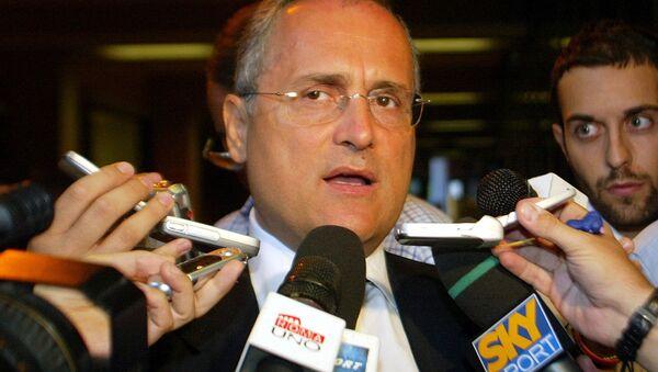 Claudio Lotito, presidente della Lazio - Sputnik Italia
