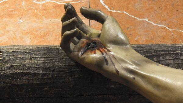 Il frammento del crocifisso - Sputnik Italia