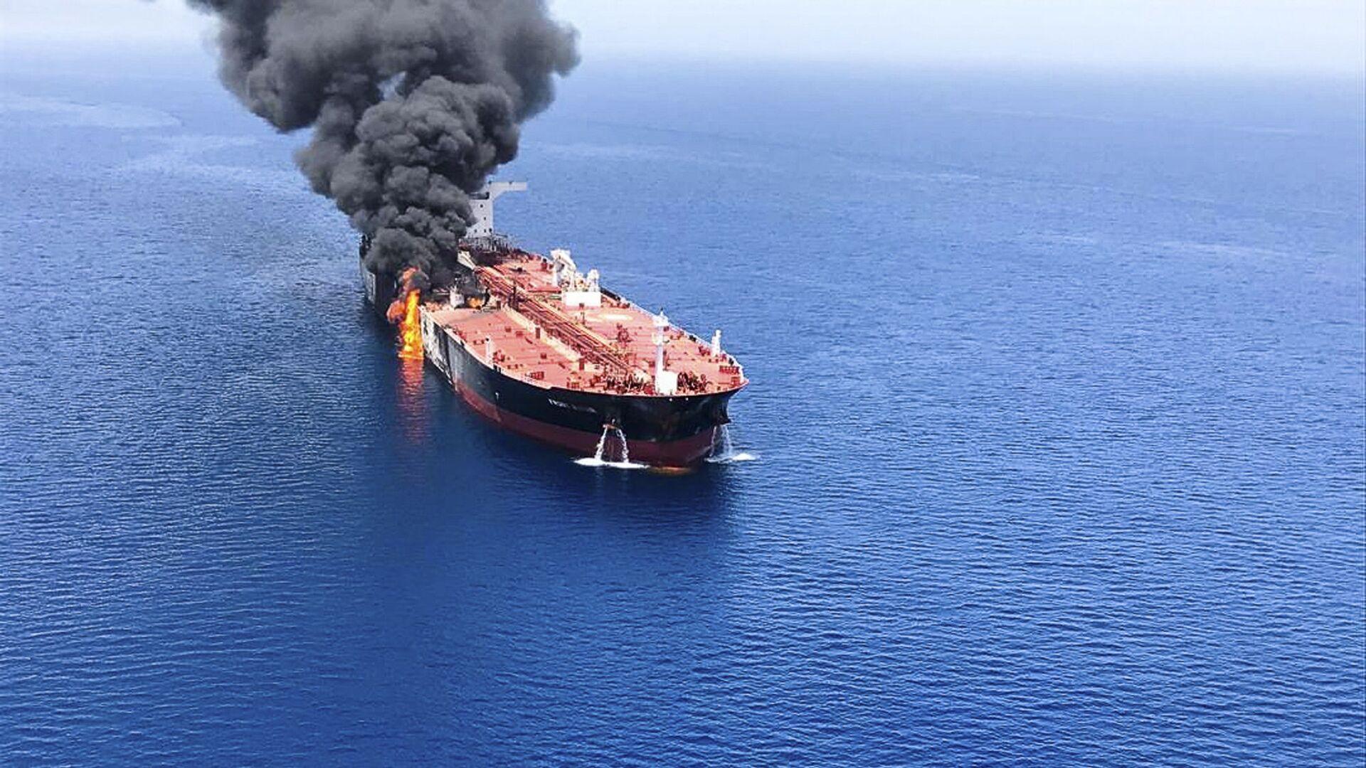 Due petroliere attaccate nel Golfo di Oman - Sputnik Italia, 1920, 02.06.2021