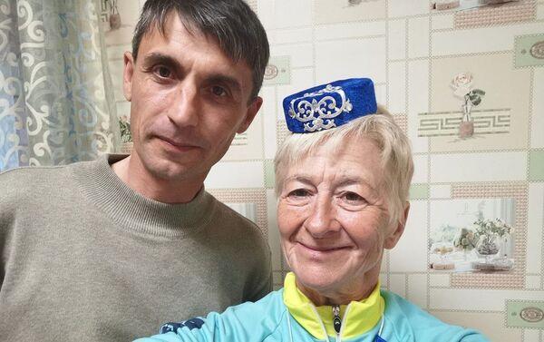 Francesca Filippi con il sindaco di Arsk - Sputnik Italia