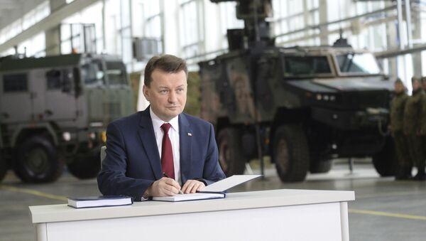 il Ministro della Difesa polacco Mariusz Błaszczak - Sputnik Italia