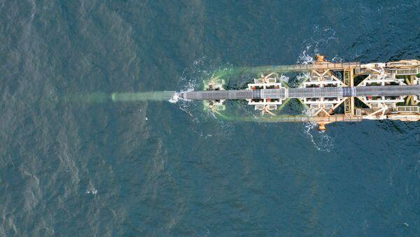 Posa delle tubature del Nord Stream 2 nel Mar Baltico - Sputnik Italia
