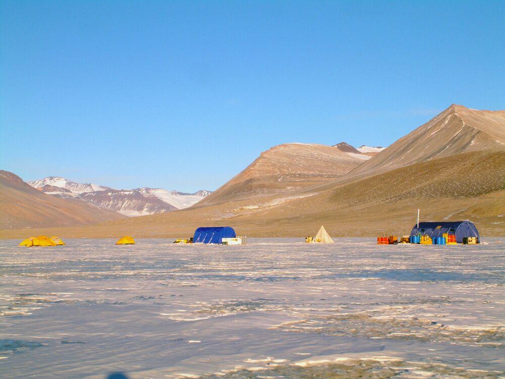 Le valli secche dell'Antartide