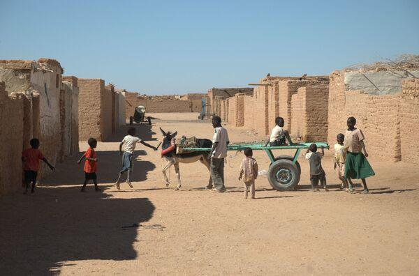 La città di Wadi-Halfa in Sudan - Sputnik Italia