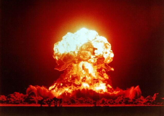 Esplosione nucleare (foto d'archivio)