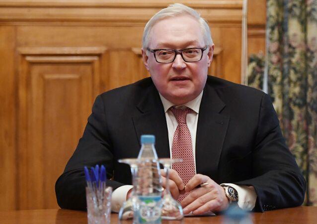 Vice ministro russo degli Affari Esteri Sergej Rjabkov