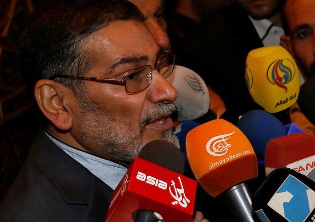 Il segretario del Consiglio di Sicurezza iraniano Ali Shamkhani