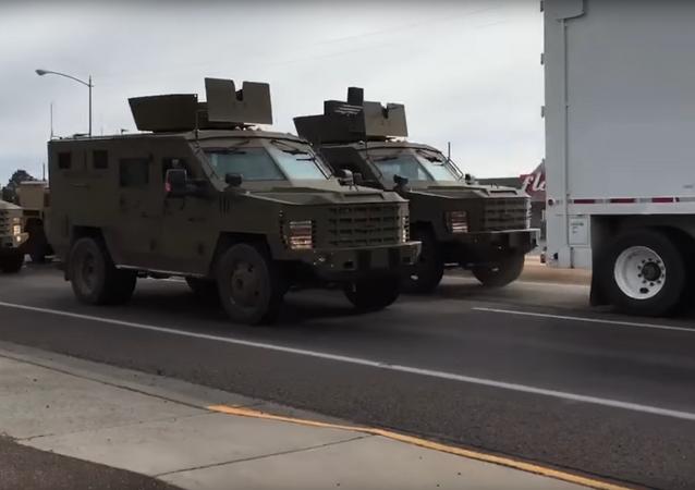 Trasporto di armi nucleari nel Montana, USA