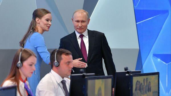 Alla Linea diretta con Vladimir Putin - Sputnik Italia