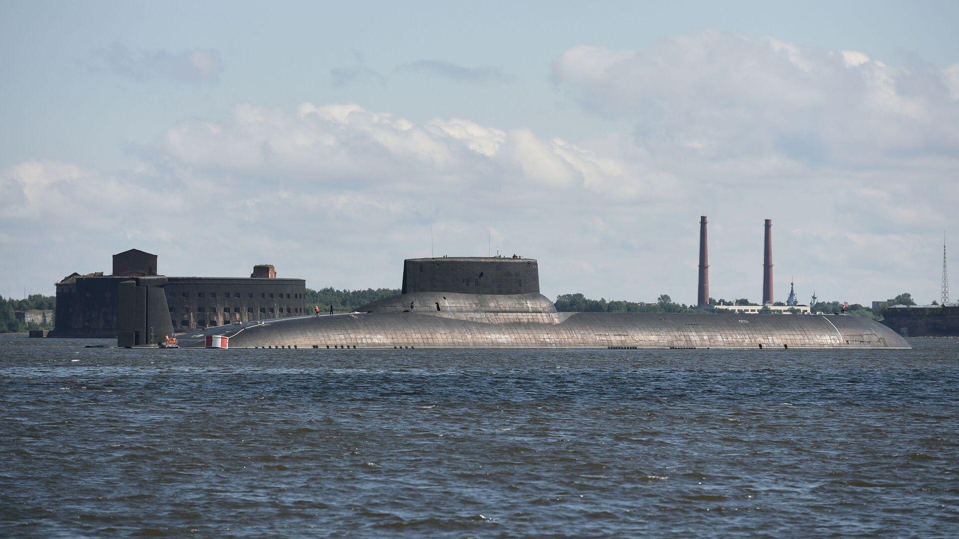 Il sottomarino nucleare della Flotta del Nord Dmitry Donskoy - Sputnik Italia, 1920, 17.07.2021