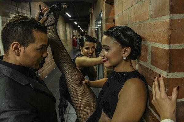Il Festival internazionale del tango in Colombia. - Sputnik Italia