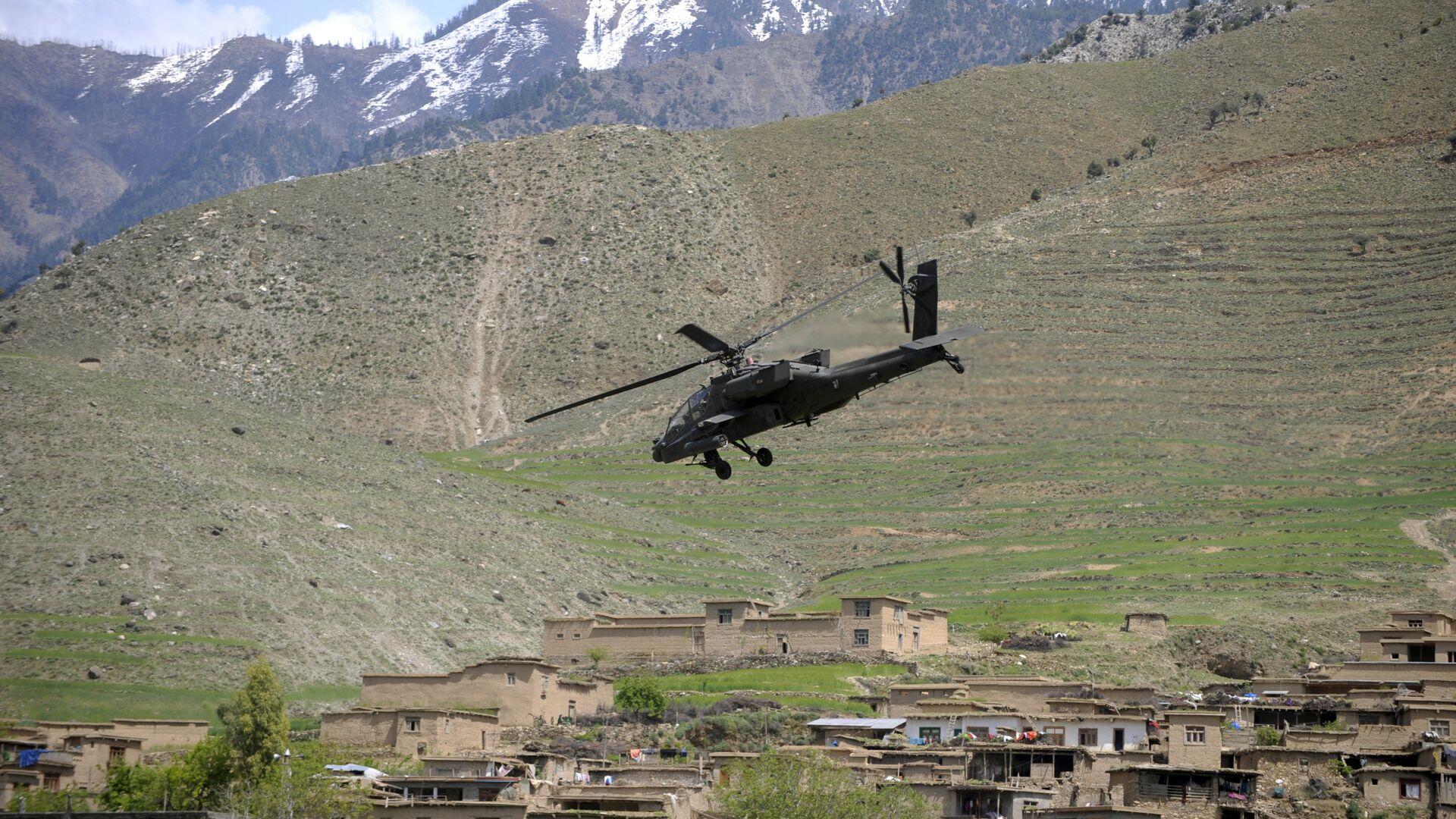 Almeno 14 soldati afghani morti di un raid aereo delle forze Usa  - Sputnik Italia, 1920, 10.06.2021