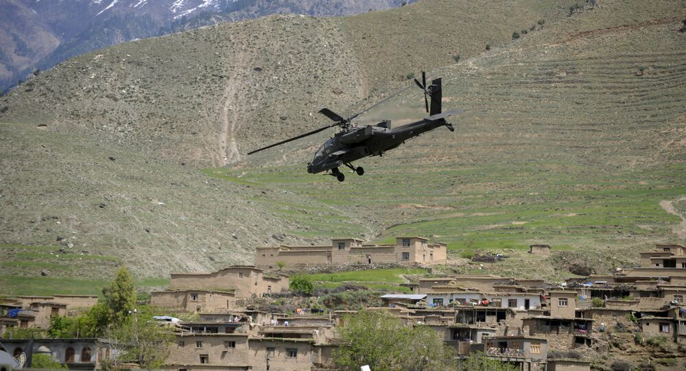 Elicottero militare in Afghanistan