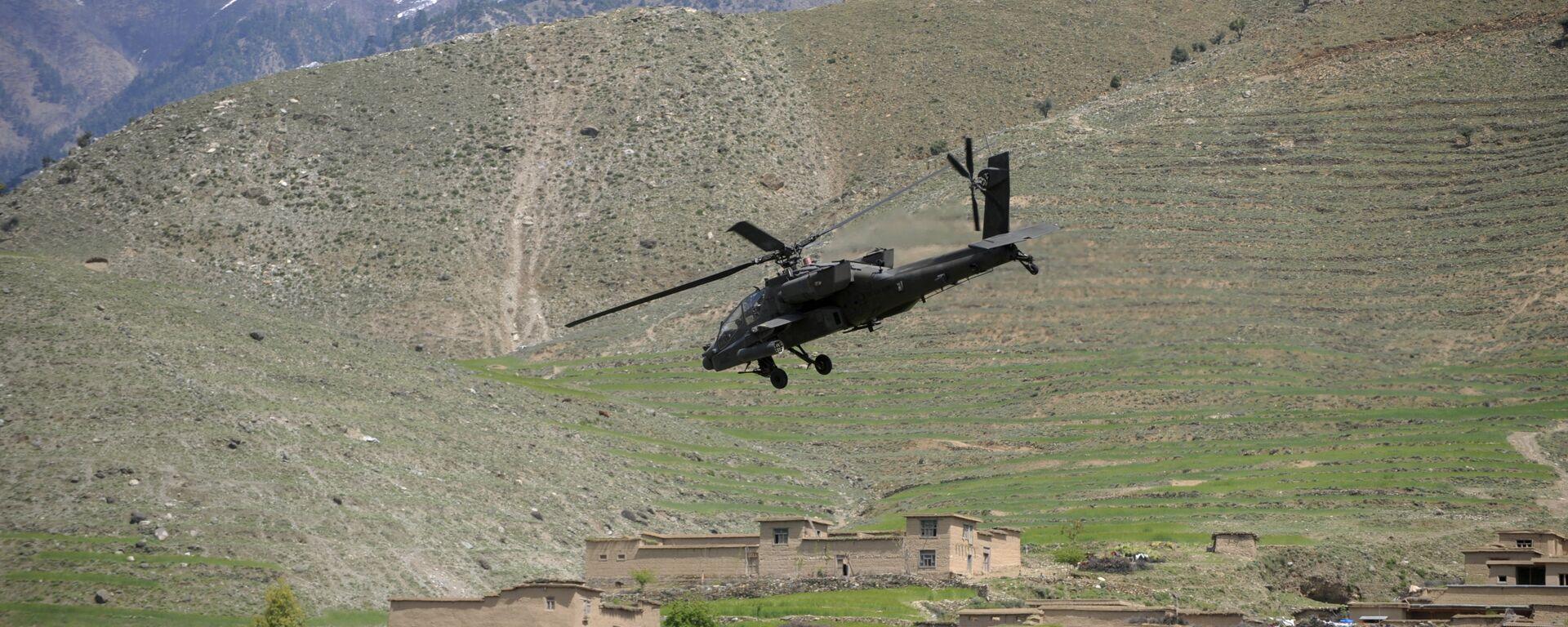 Almeno 14 soldati afghani morti di un raid aereo delle forze Usa  - Sputnik Italia, 1920, 14.08.2021