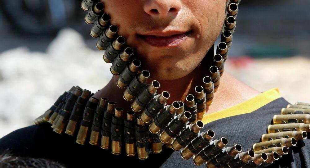 Terrorista in Medio Oriente