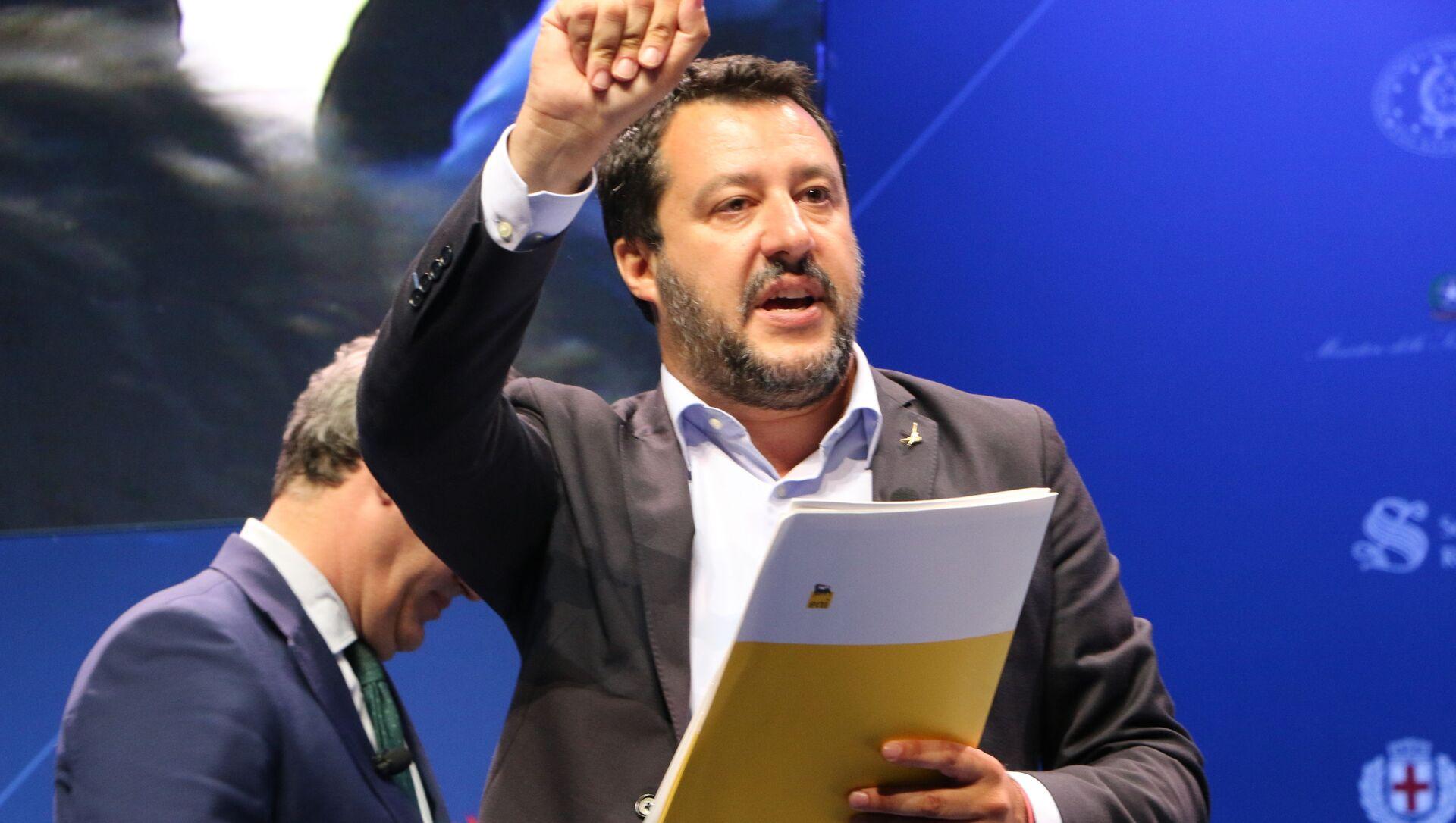 Matteo Salvini - Sputnik Italia, 1920, 23.02.2021