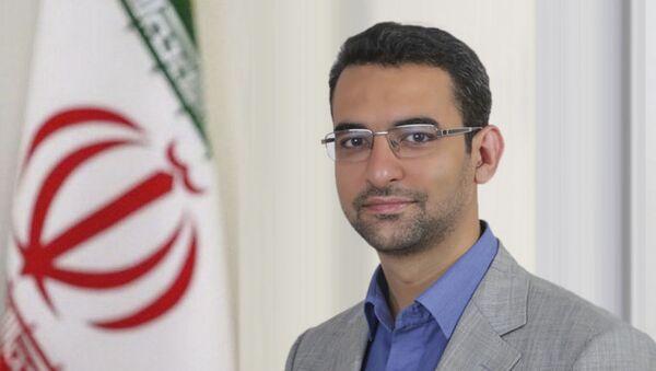 Il ministro delle Tecnologie dell'Informazione e della Comunicazione iraniano Mohammad-Javad Azari Jahromi - Sputnik Italia