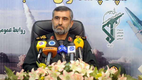 Il generale iraniano Amir Ali Hajizadeh - Sputnik Italia