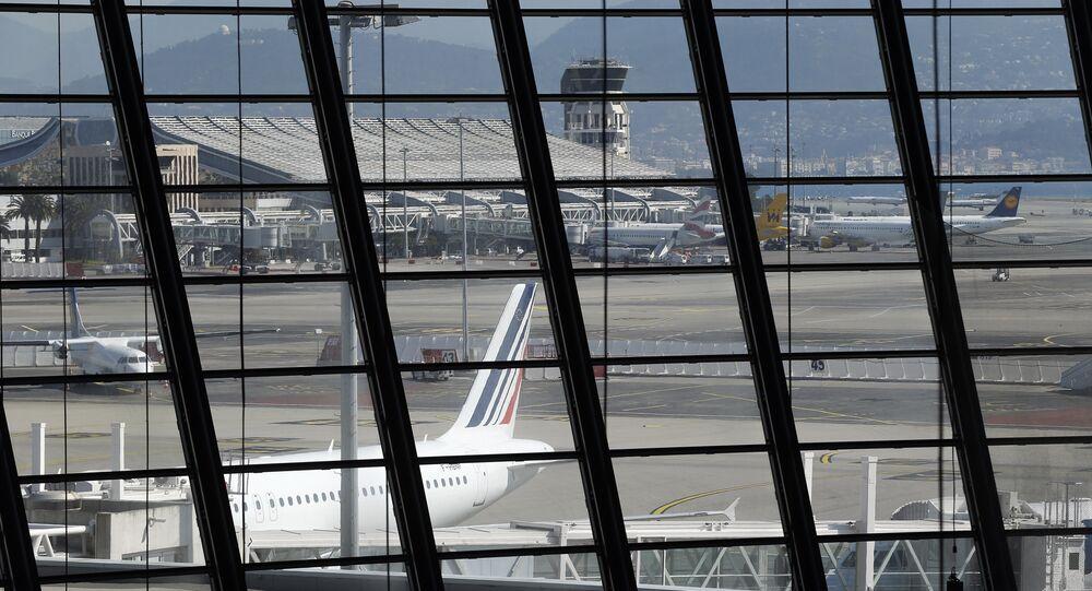 L'aeroporto di Nizza