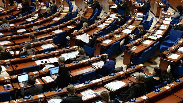 Delegati alla plenaria della sessione invernale dell'Assemblea Parlamentare del Consiglio d'Europa - Sputnik Italia