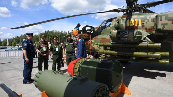 L'elicottero d'attacco Mil Mi-28 Night Hunter. - Sputnik Italia