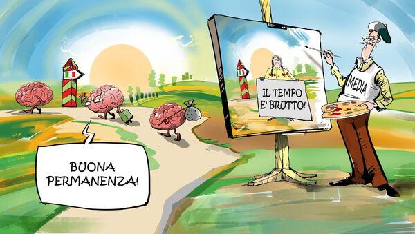 Fuga dei cervelli - Sputnik Italia