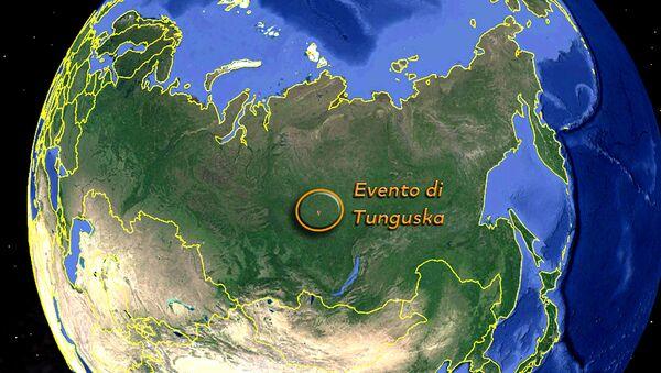 L'evento di Tunguska sulla mappa - Sputnik Italia