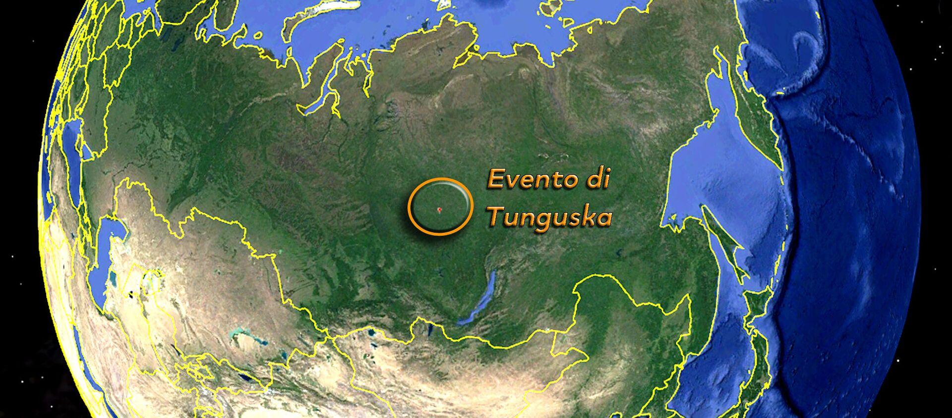 L'evento di Tunguska sulla mappa - Sputnik Italia, 1920, 29.06.2019