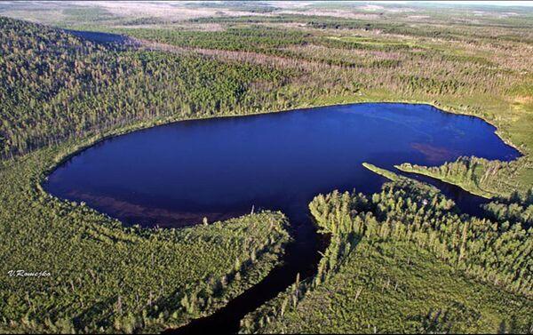 Lago Čeko - foto aerea - Sputnik Italia