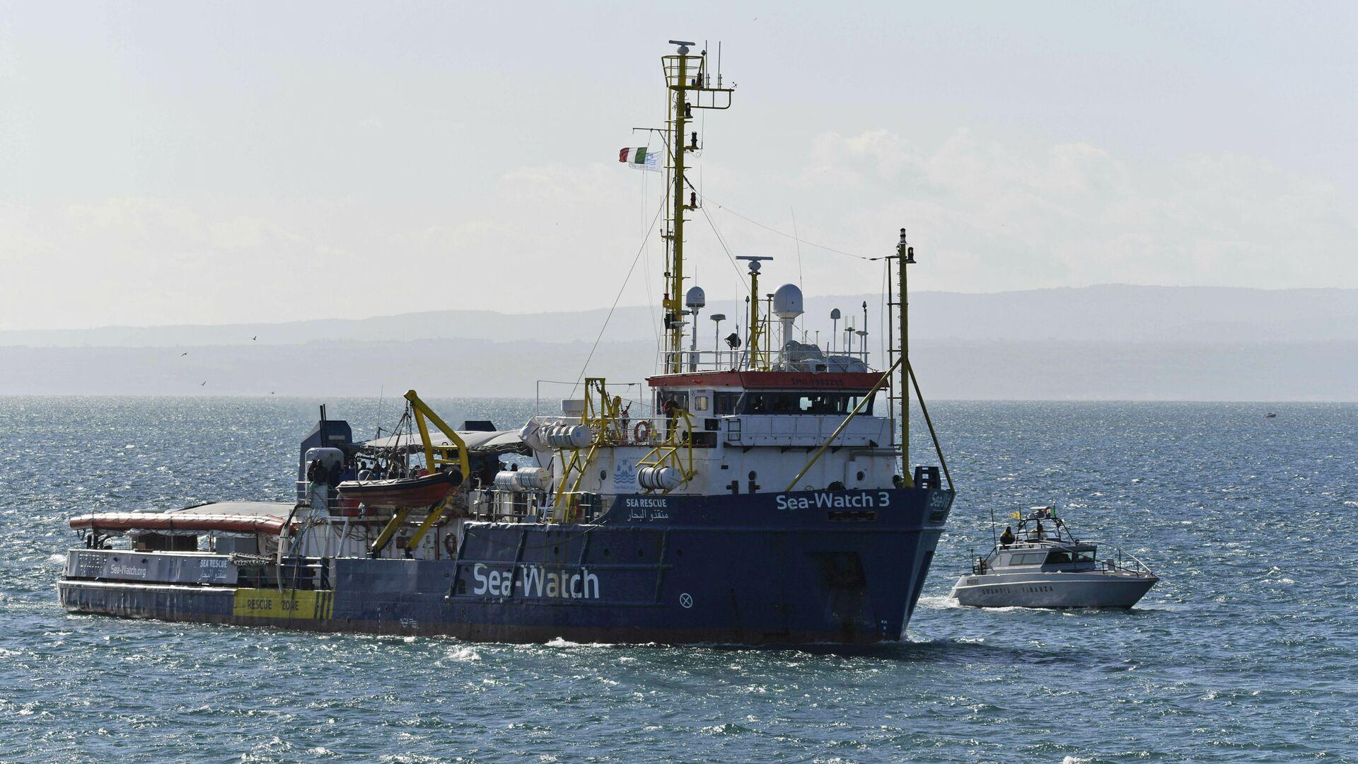 Sea Watch 3 - Sputnik Italia, 1920, 07.08.2021