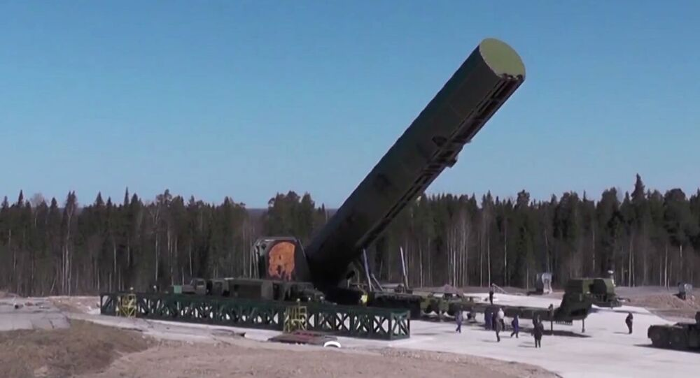 Il missile balistico russo Sarmat