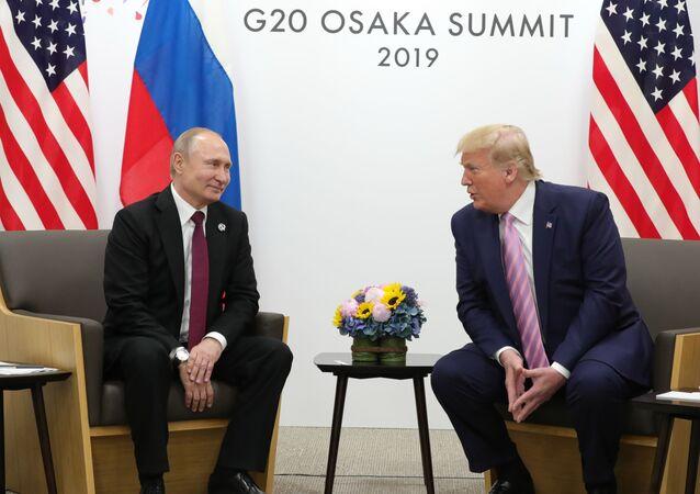 Trattative tra Putin e Trump in Giappone