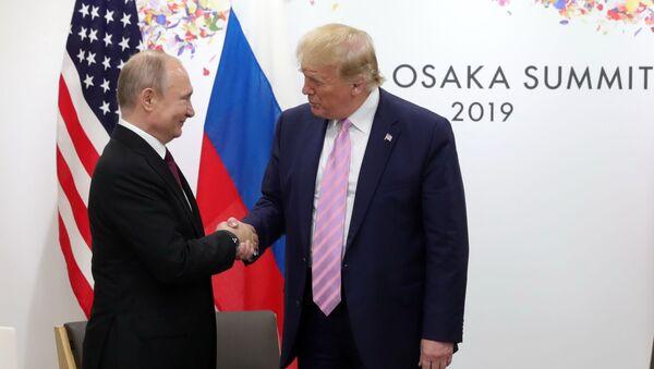 Putin e Trump si incontrano in Giappone - Sputnik Italia