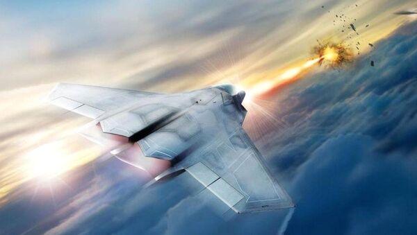 Concetto di un caccia futuristico dotato da laser - Sputnik Italia