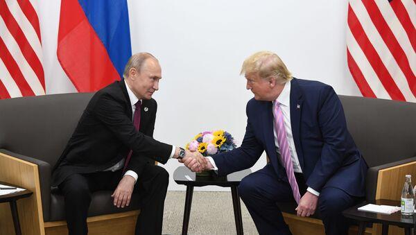 G20, incontro tra Putin e Trump ad Osaka - Sputnik Italia
