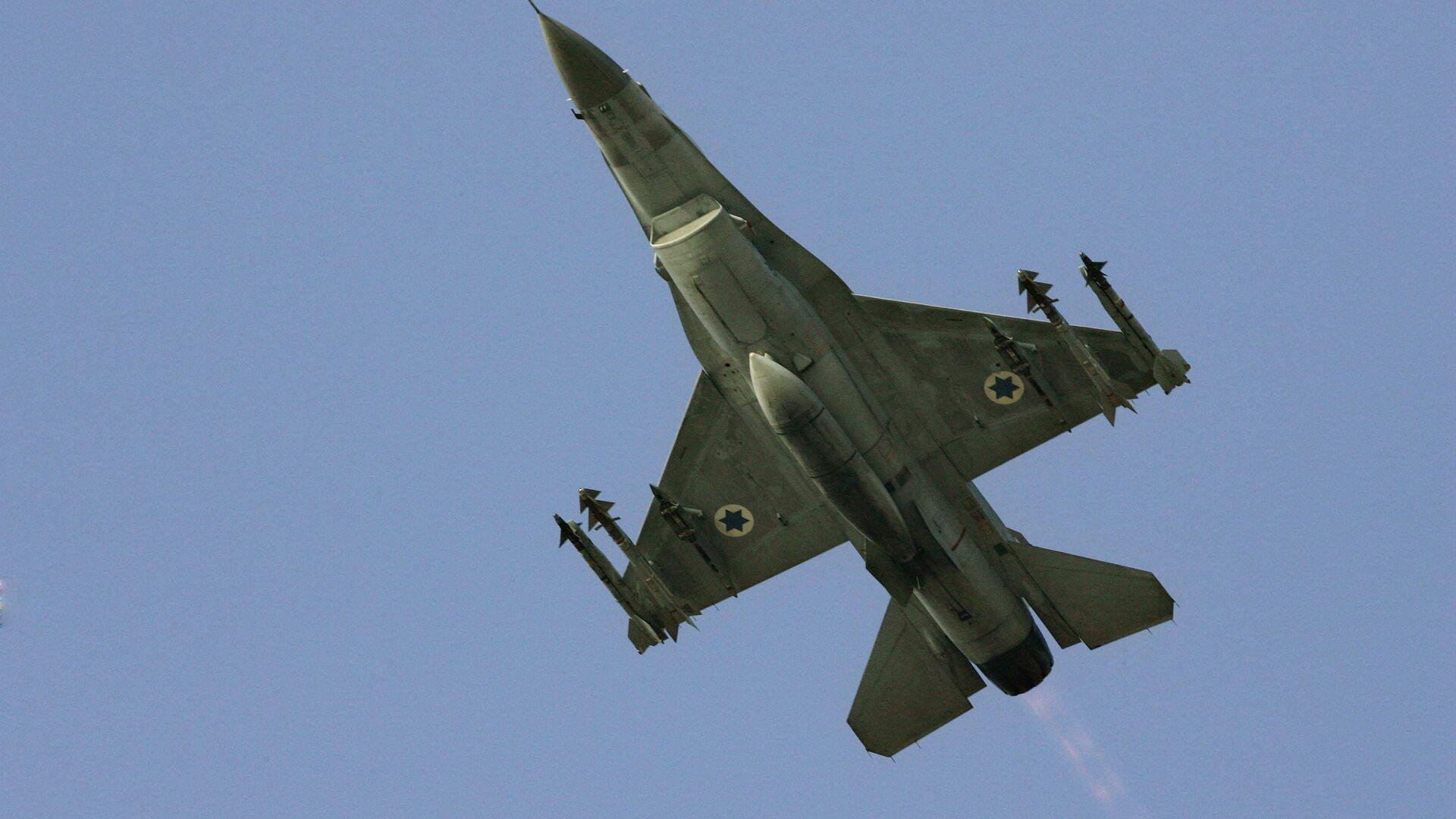 Caccia F16 delle forze armate israeliane - Sputnik Italia, 1920, 24.06.2021