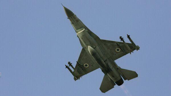 Caccia F-16 dell'aviazione israeliana - Sputnik Italia