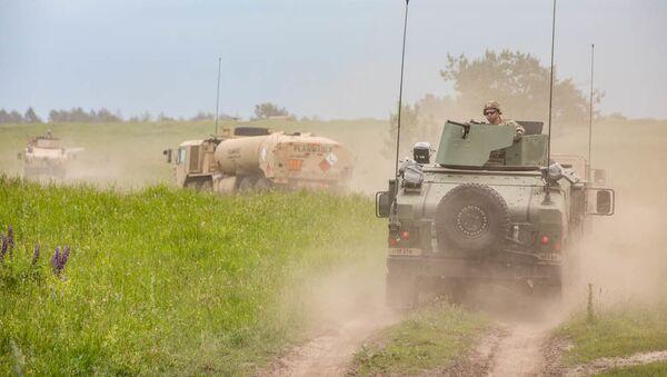 Soldati americani in Polonia - Sputnik Italia