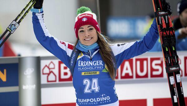 La biatleta italiana Dorothea Wierer - Sputnik Italia