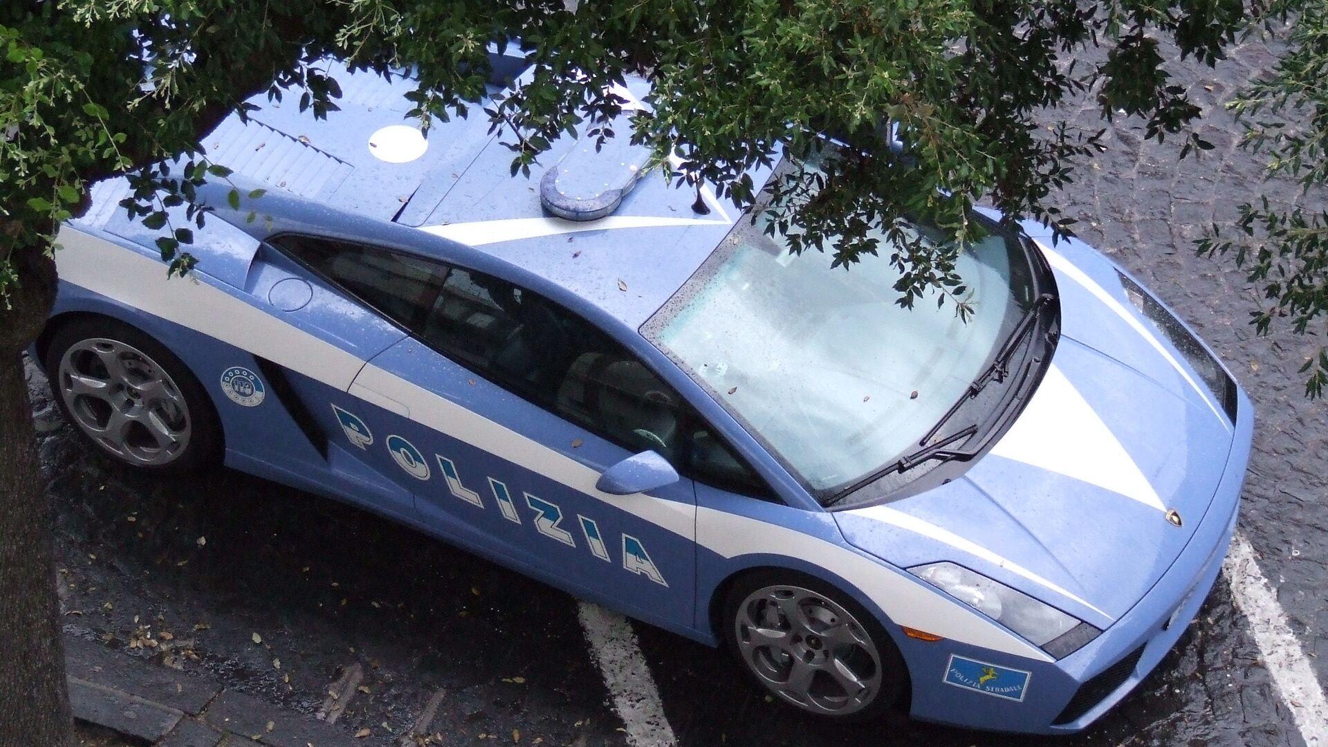 Auto della polizia italiana - Sputnik Italia, 1920, 04.02.2021