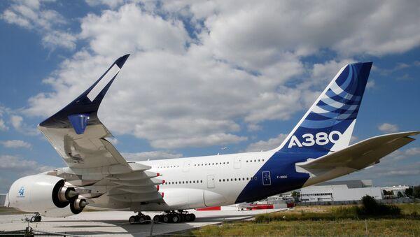 Aereo passeggeri Airbus А380 in Francia - Sputnik Italia