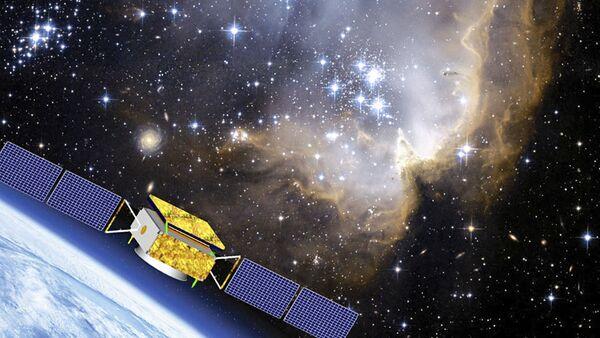 Illustrazione del satellite cinese DAMPE per esaminare la materia oscura - Sputnik Italia