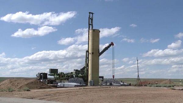 Test di nuovo missile anti-balistico al poligono di Sary-Šagan, in Kazakistan - Sputnik Italia
