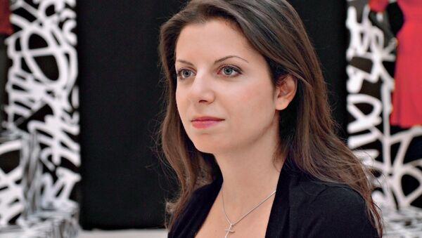 La caporedattrice di Sputnik e RT Margarita Simonyan  - Sputnik Italia