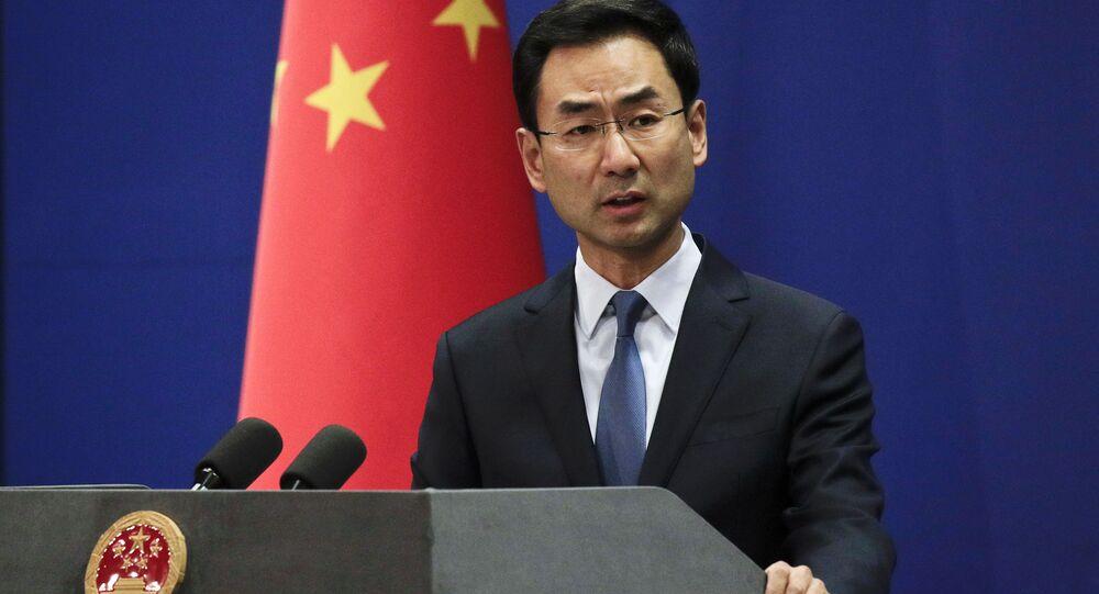 Il portavoce ufficiale del Ministero degli Esteri cinese Geng Shuang
